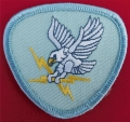 450.  beret us air force 1041st security police squadron1966-1967 (falcon with lighting in talons disbanded in 1968)