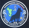120.  gendarmerie nationale de mayotte (plastique)